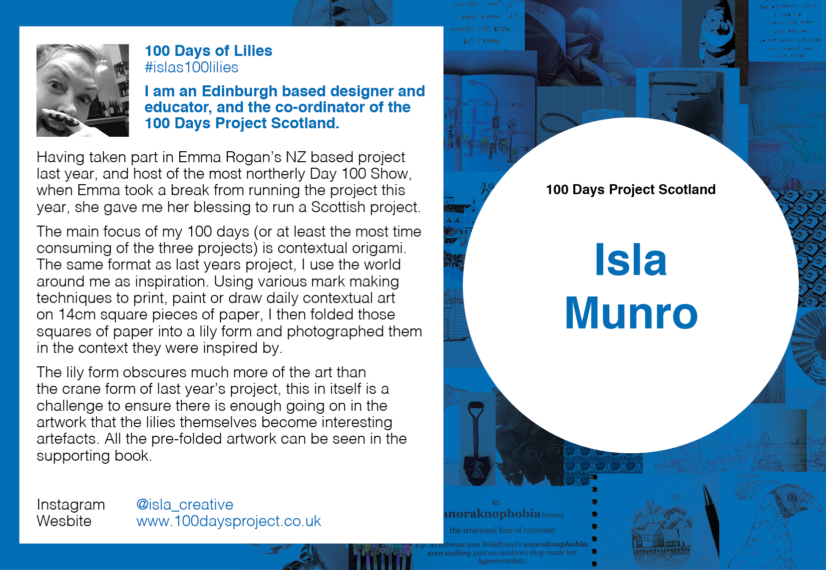 Isla Munro - 100 Days of Lilies