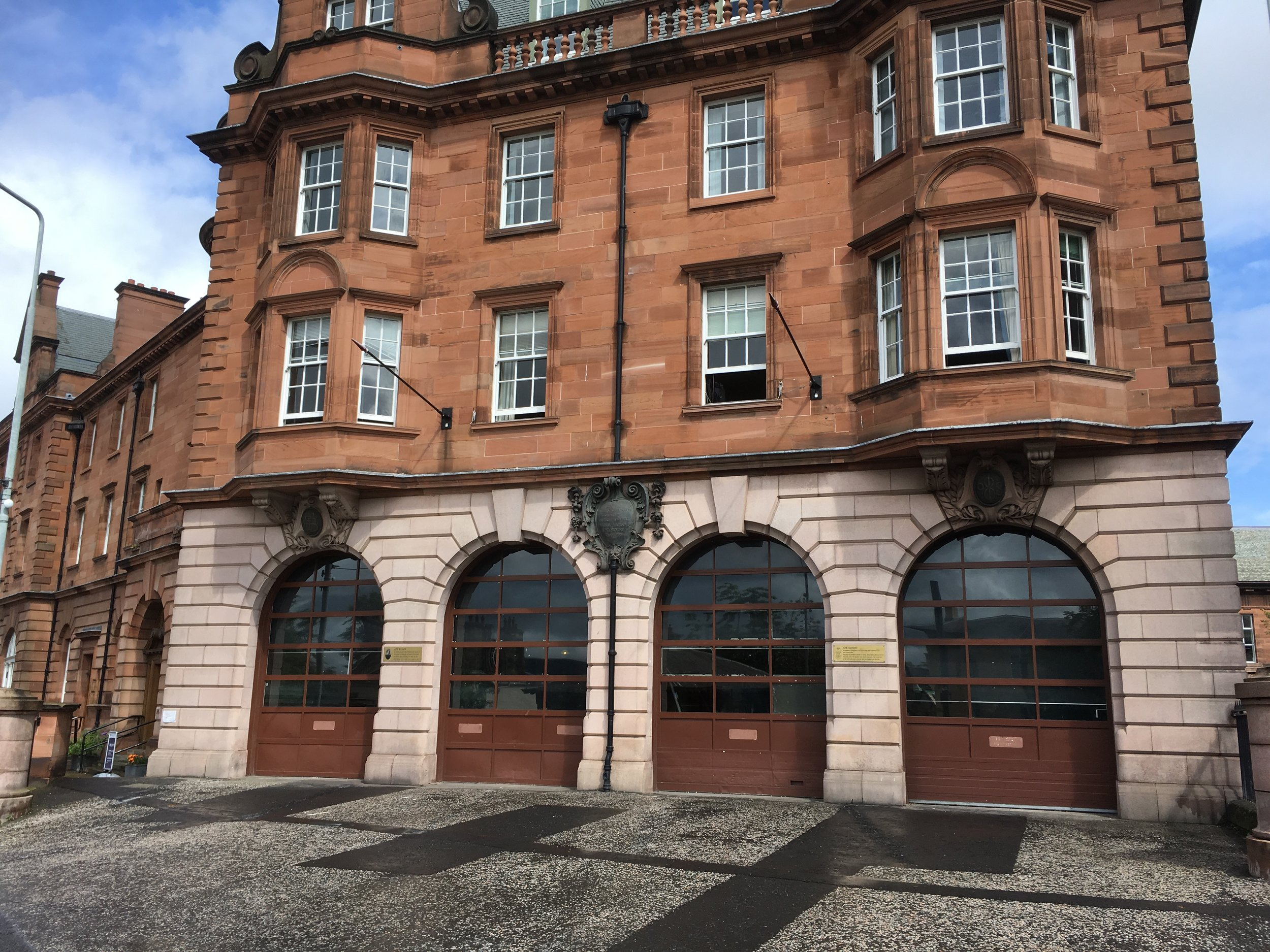 The Fire Station - The Fire Station at Edinburgh College of Art is booked and it just needs your work to fill it!