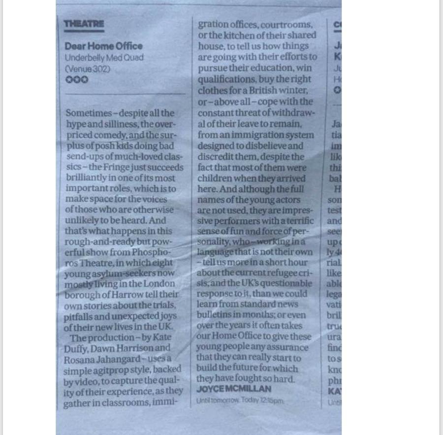 Scotsman Review
