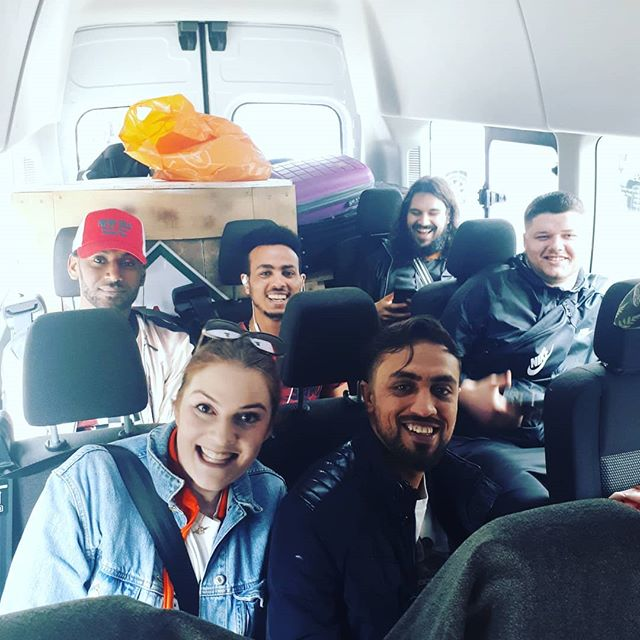 Road trip to Wales! We're performing @aberystwytharts tonight at 7.30pm as part of #aradgoch festival ✌🌏