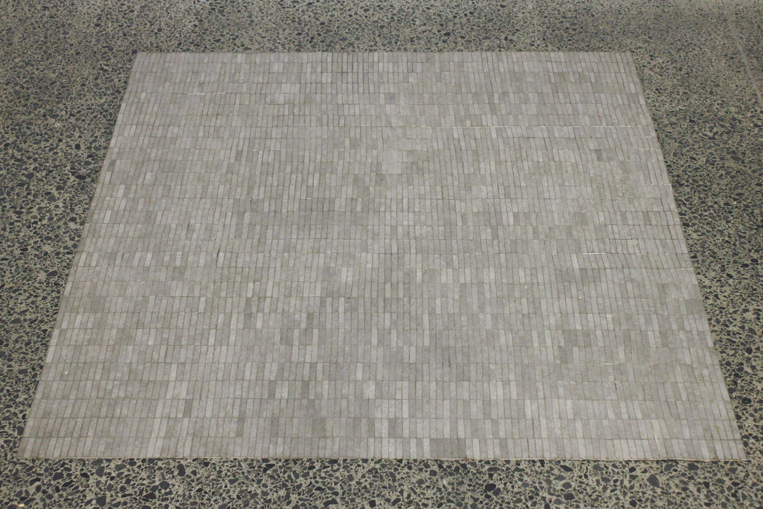 Katrina Beekhuis,  Lino floor mat , 2016