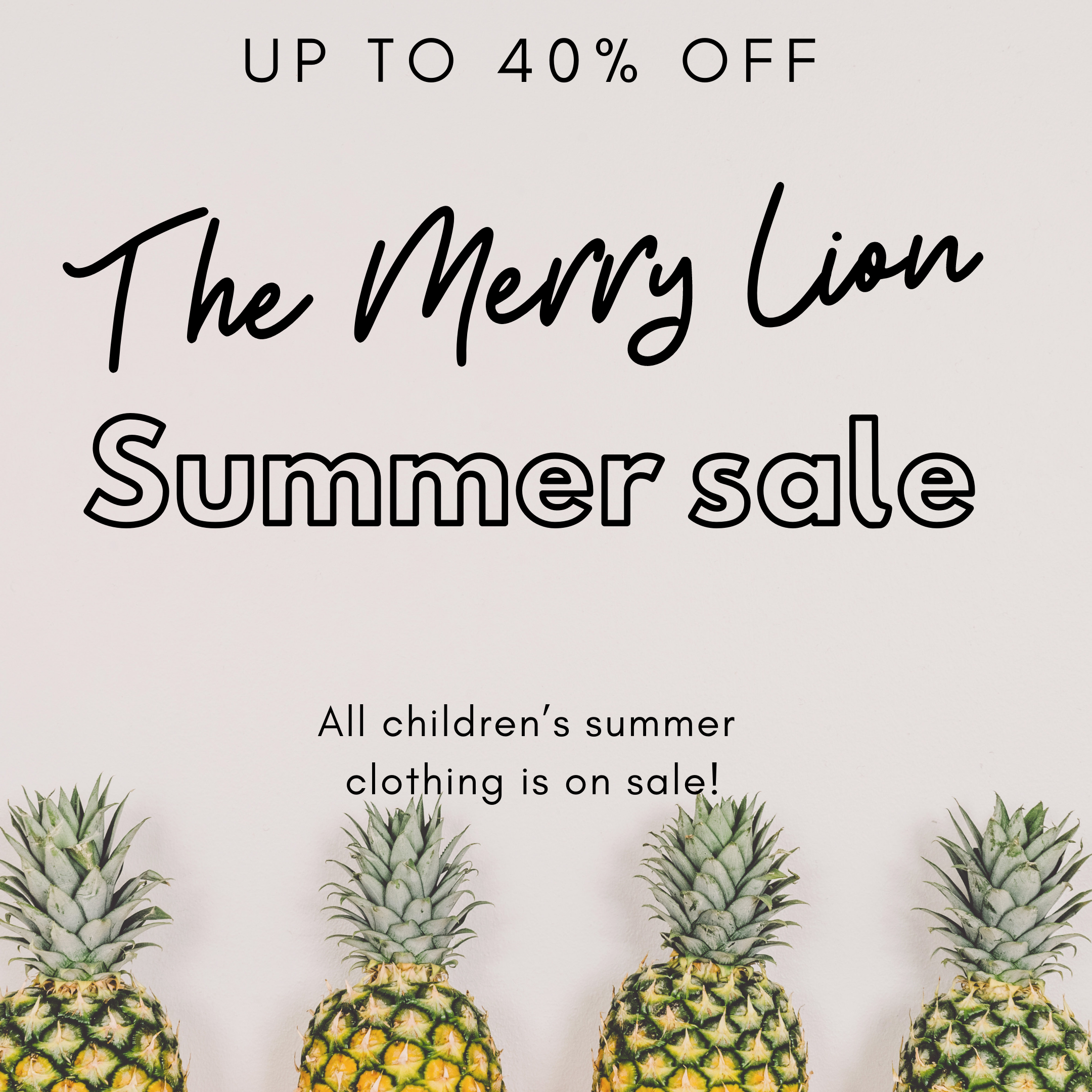 The Merry Lion Summer Sale.PNG