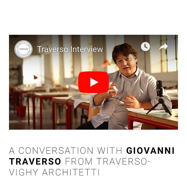 Read our interview with Giovanni Traverso and want to know more? Check out www.ufvorkurs.com for the video interview. Traverso-vighy.com #uf #vorkurs #SoA #architecture #exquisitecorpse #volume2 #cortebertesina