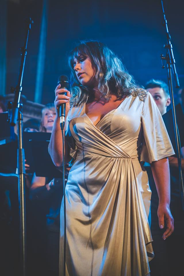Charlotte Church at Union Chapel with LCV Choir.jpg