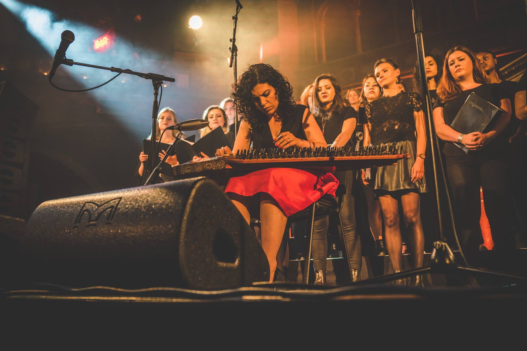 Maya Youssef and LCV Choir at Union Chapel London.jpg