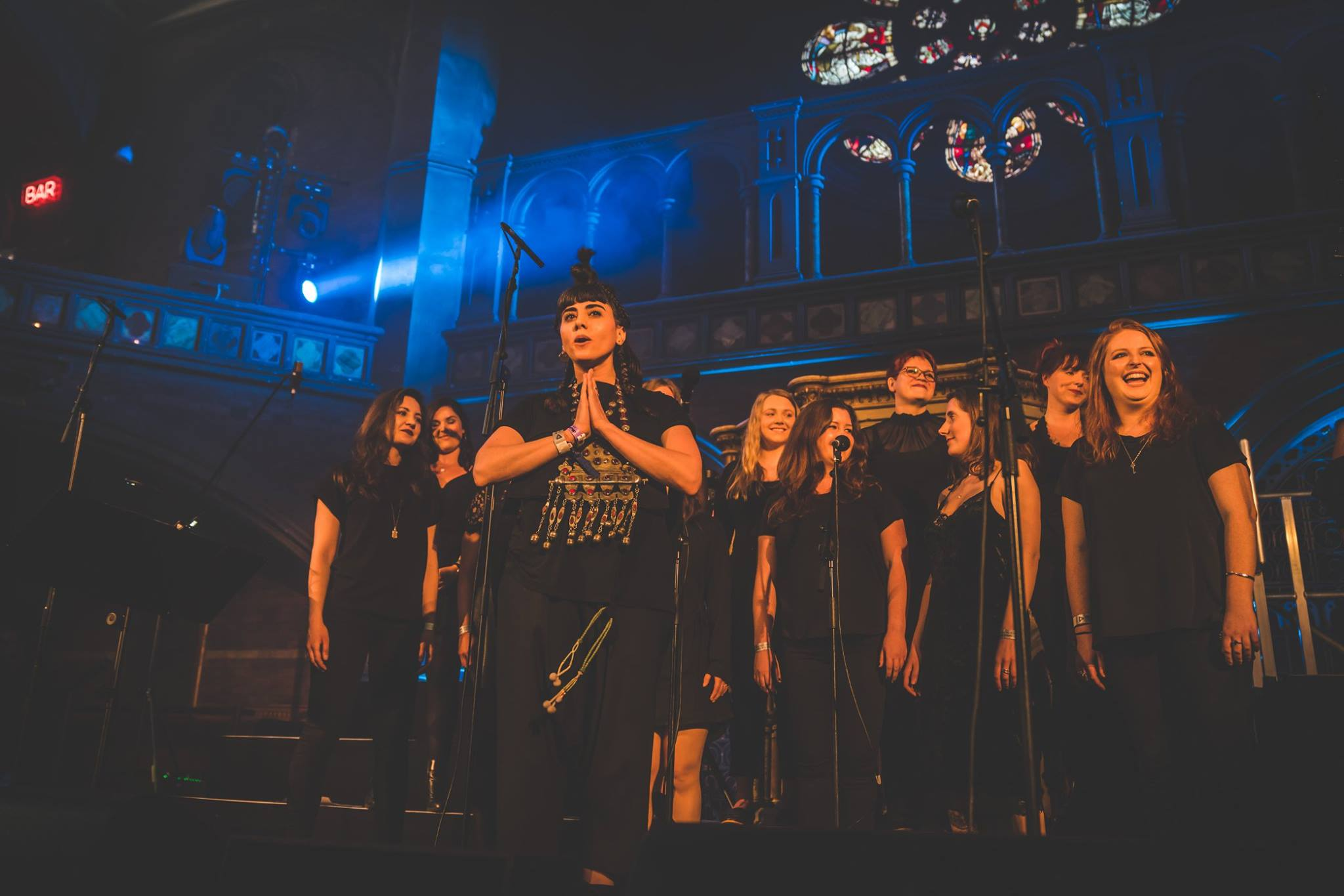 KARYYN and LCV choir at Union Chapel.jpg