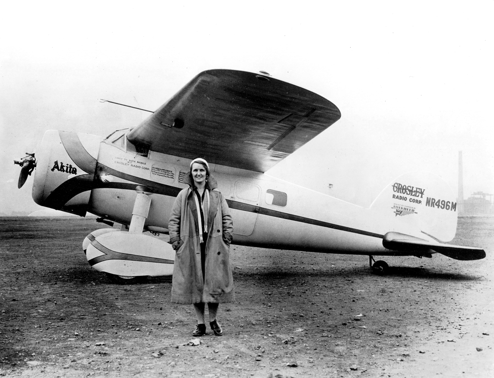In 1930, Ruth Nichols finally got what she wanted: the  Akita , a plane fast enough to beat Earhart.  International Women's Air and Space Museum