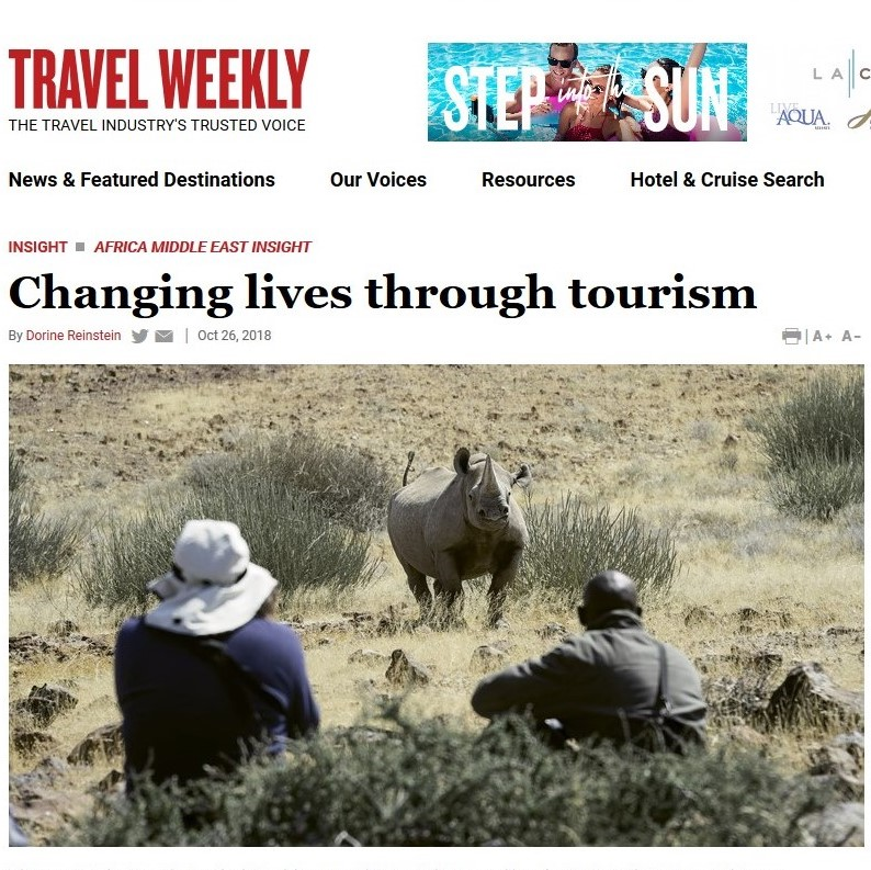 "If there is one trend that has been discussed at length in 2018 in the tourism industry, it is the idea of ""transformative"" or ""transformational"" travel."