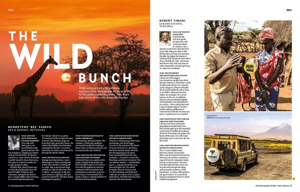 National Geographic Traveller's Interview with our Co-Founder Robert!