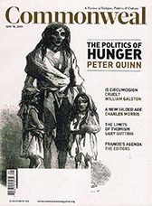 Hunger Games: Who Gets To Eat and Who Decides? - The Politics of Hunger - What criteria should be used to decide who gets fed - and in what amount - and who doesn't?From: CommonwealDate: May 16, 2014