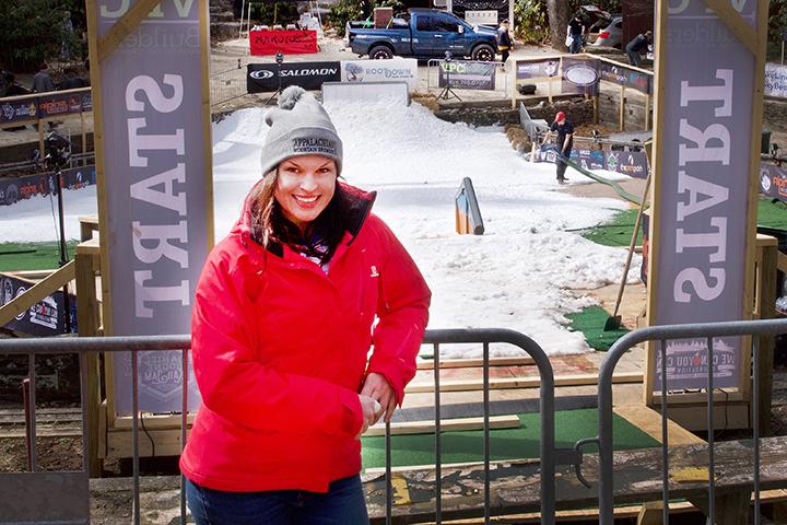 Rail Jam Event Coordinator and Horn in the West's Choreographer, Shauna Godwin.