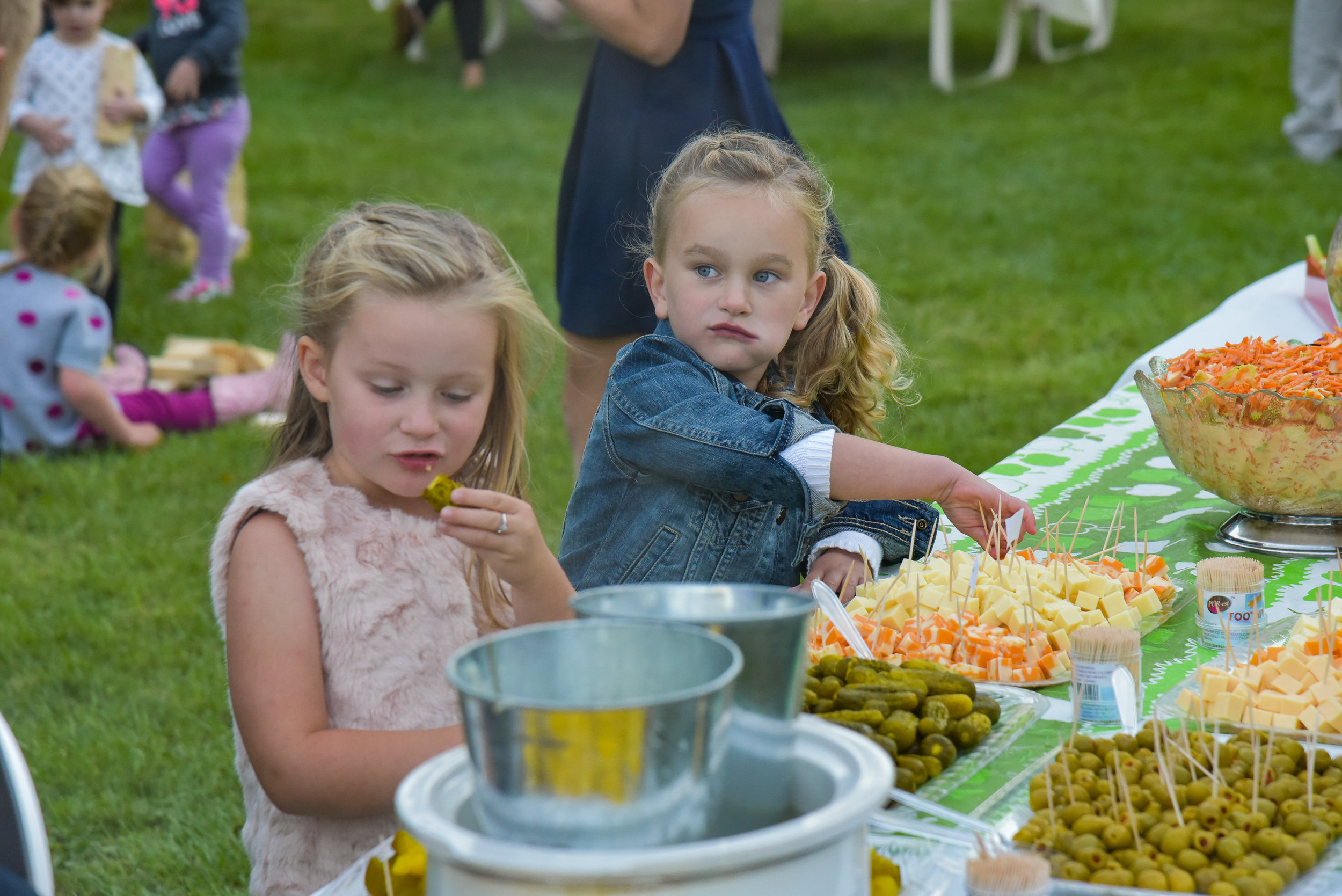 Banfield-Walcott Wedding - 24 SEP 2016 - 047 - Let's Eat.JPG
