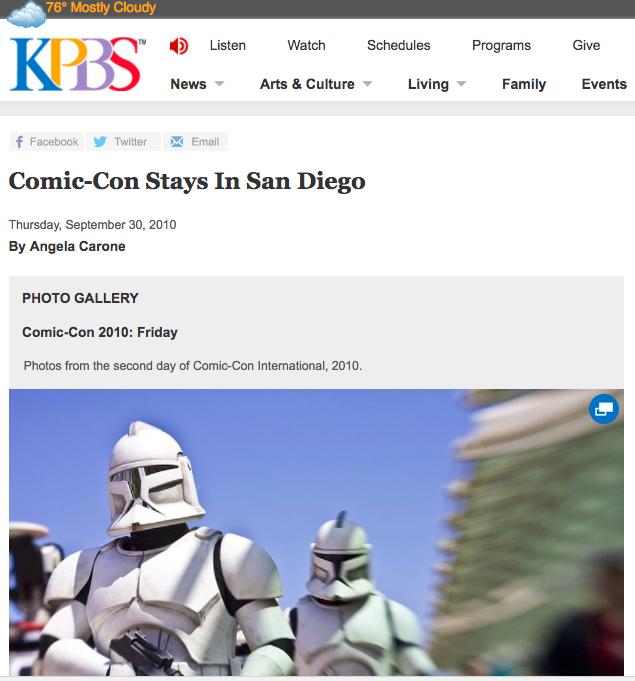 Media | Comic-Con Stays in San Diego