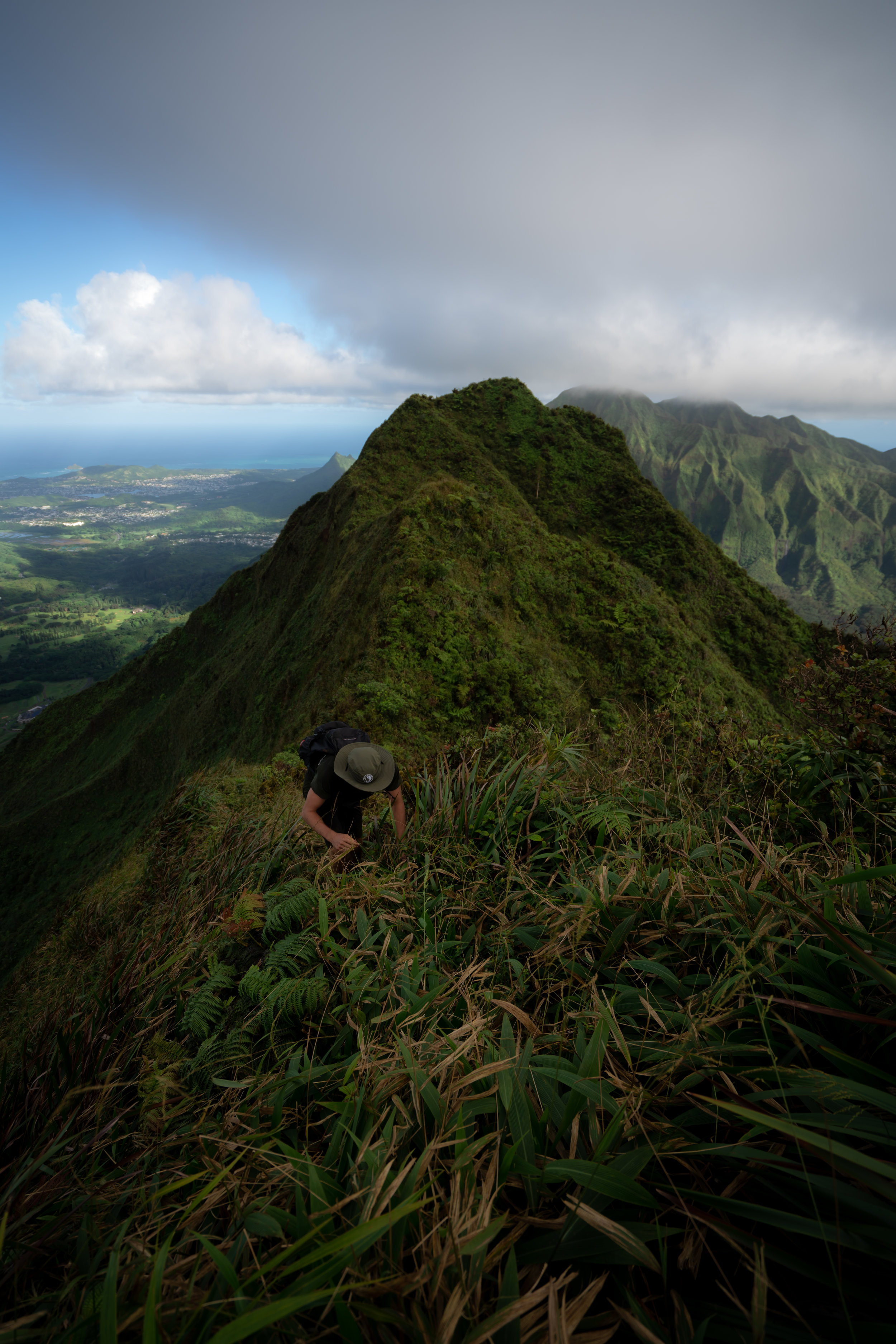 Pu'u Lanihuli Summit looking toward K1