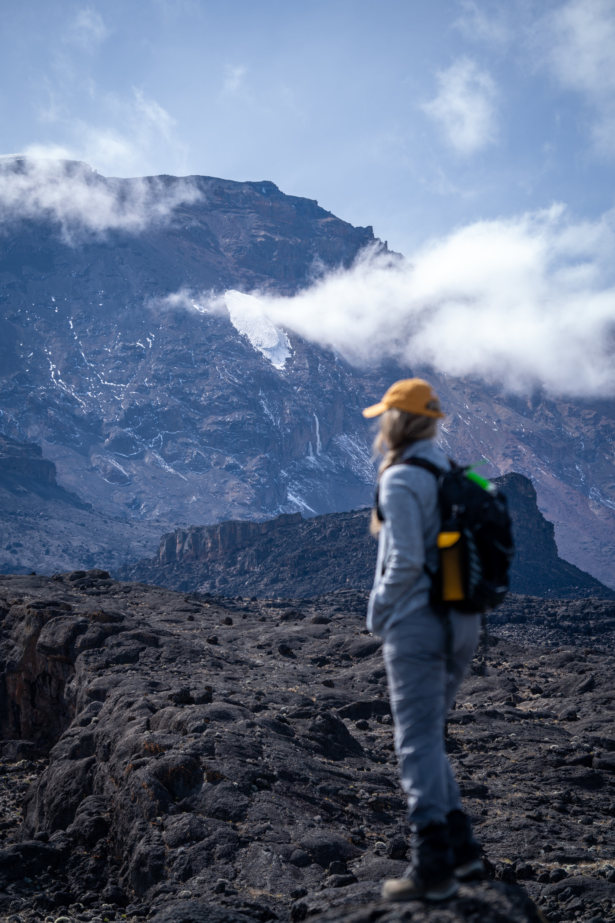 Hiking from Moir Camp to Lava Tower