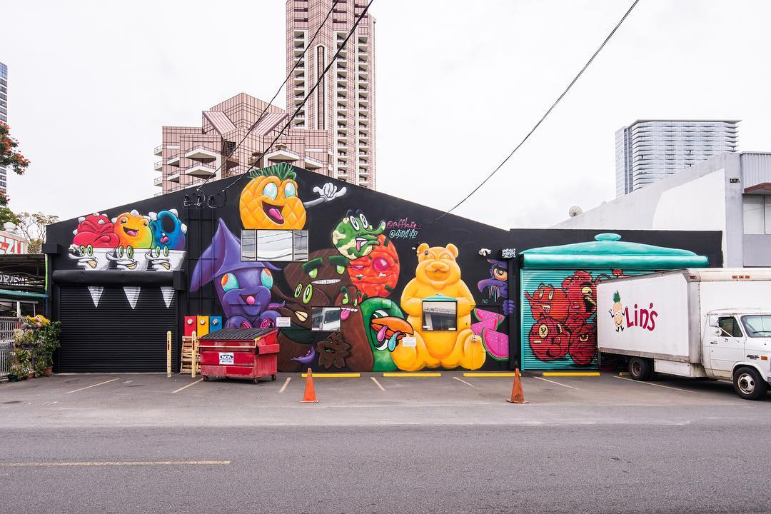 Powow 2018 Collaboration with Puff for Lin's Snacks Hawaii