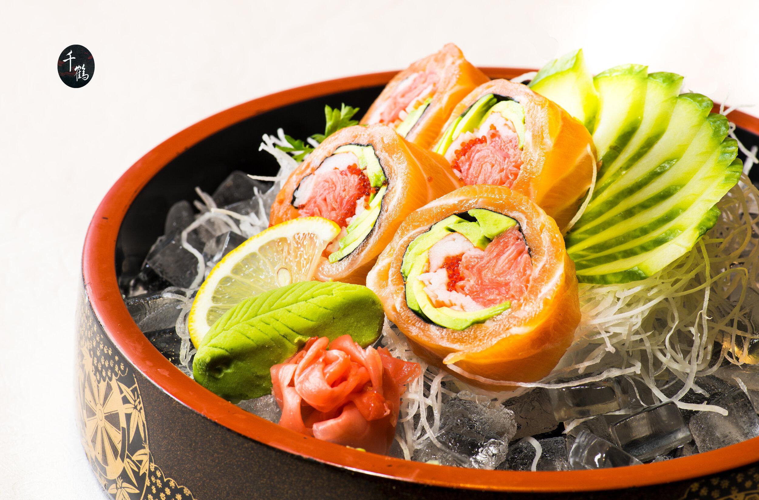 Salmon Ginger Roll $9.99