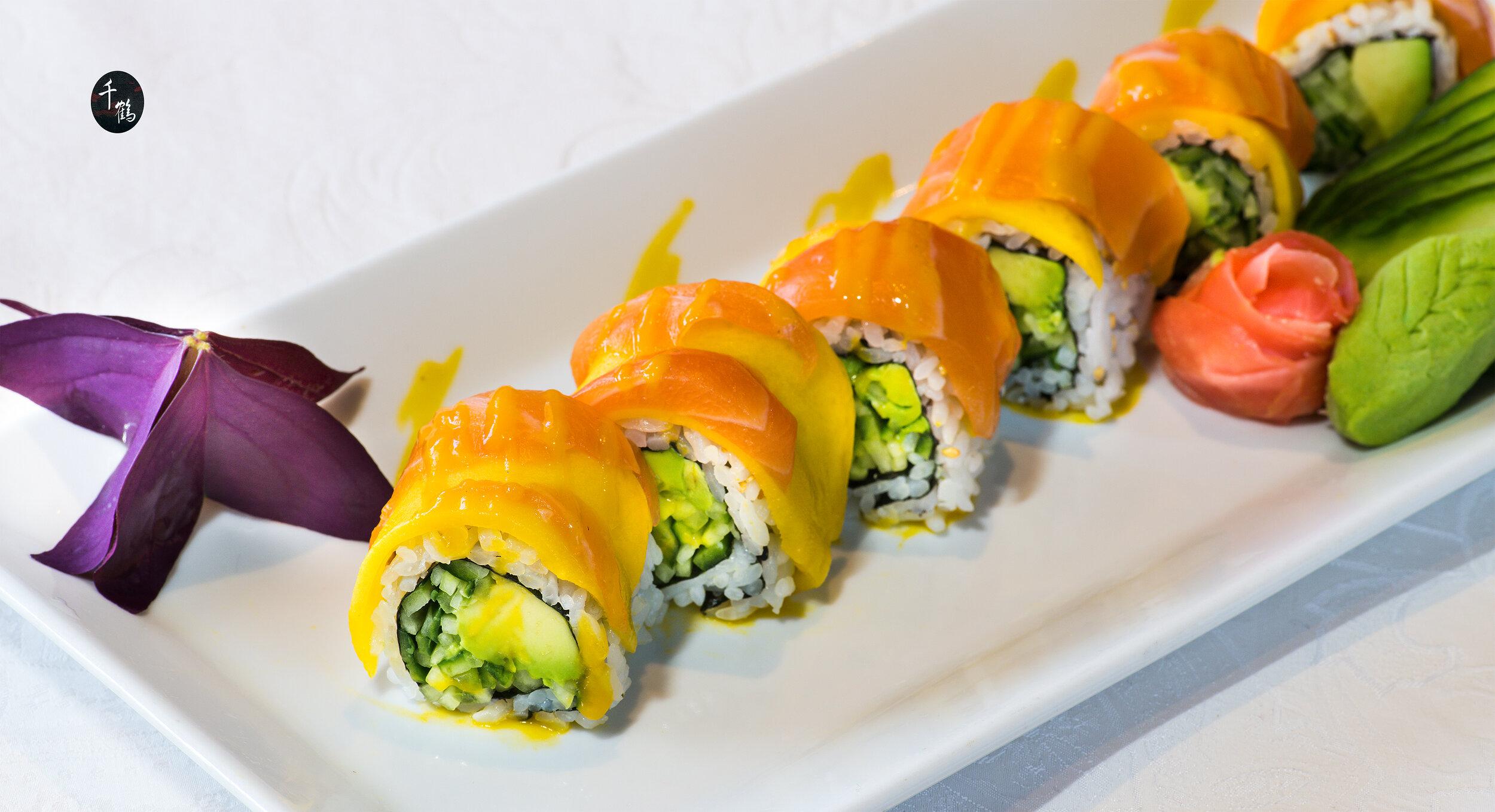 Sushi Roll Menu -