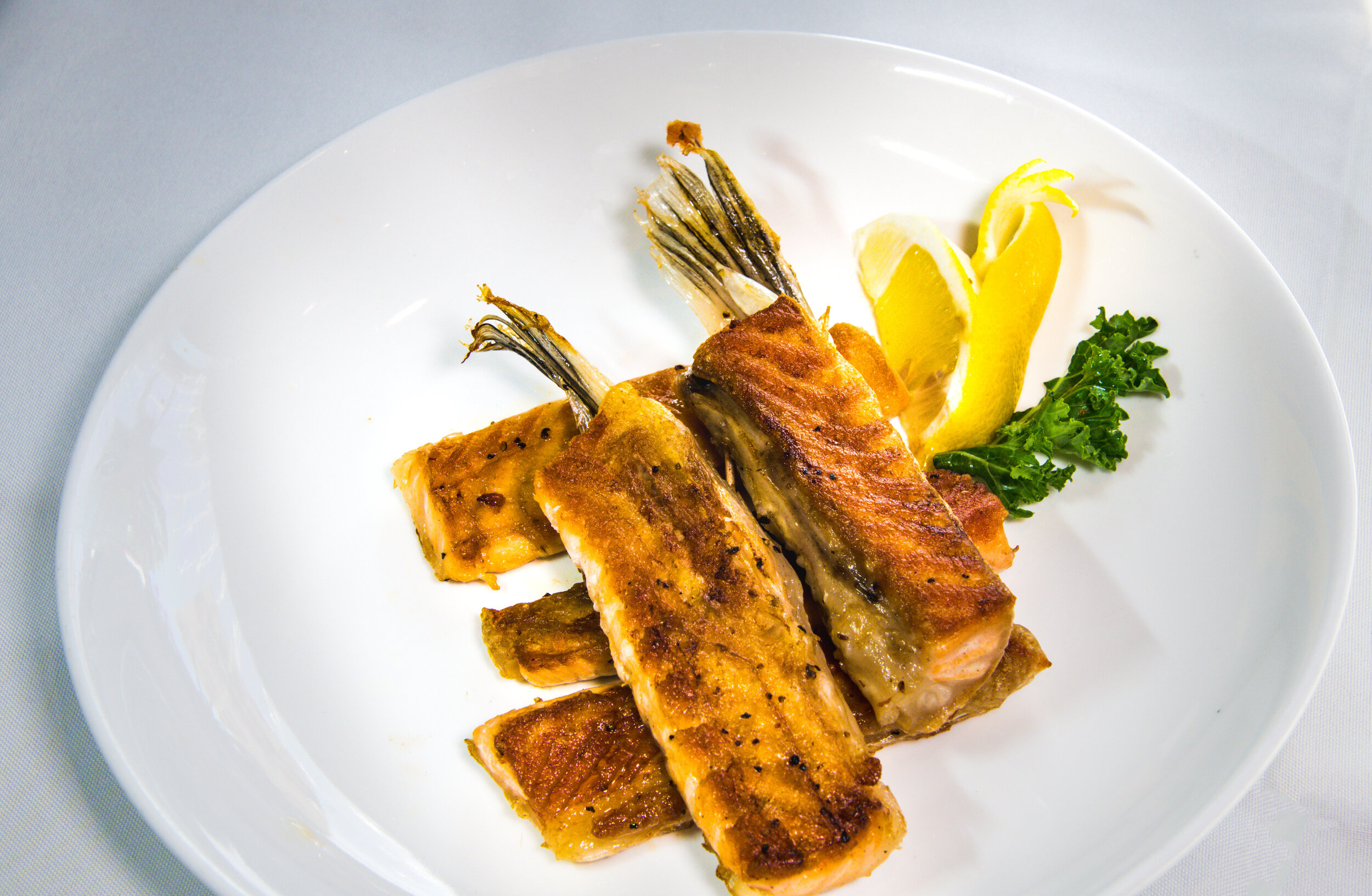 Grilled Salmon Belly $9.99