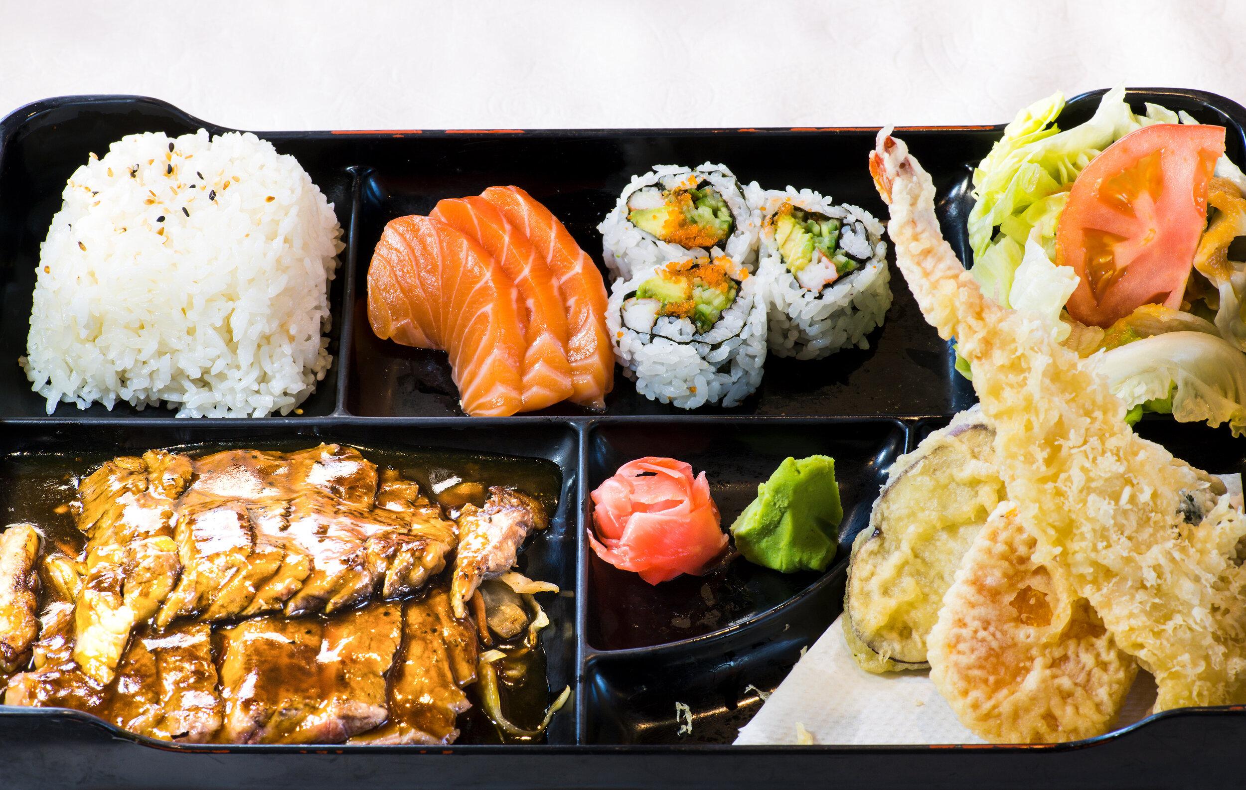 Beef Teriyaki Bento Box $19.99