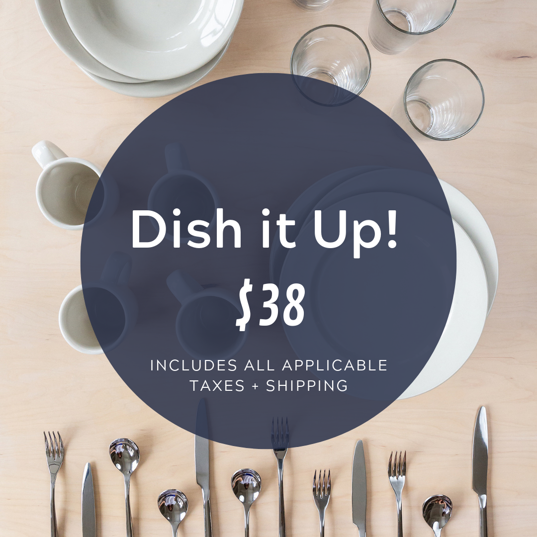 Social Media Post Sample Copy:  No bent spoons allowed! We've partnered with @cocobundlco to provide our clients with dishes and cutlery that will stand the test of time! Everything in this bundle was sourced from restaurant suppliers who are experts at creating durable goods!  https://cocobundle.co/bundles-3rd-street/dish-it-up