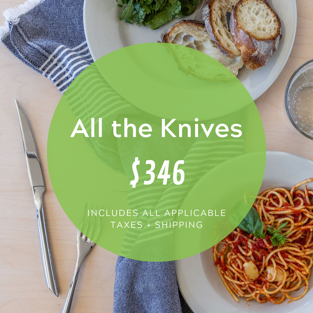 Social Media Post Sample Copy:  Hey big spender! We're looking for a generous supporter to gift ALL the table knives for our brand new kitchen? Check out our full registry with @cocobundleco here:  www.cocobundle.co/dvrc