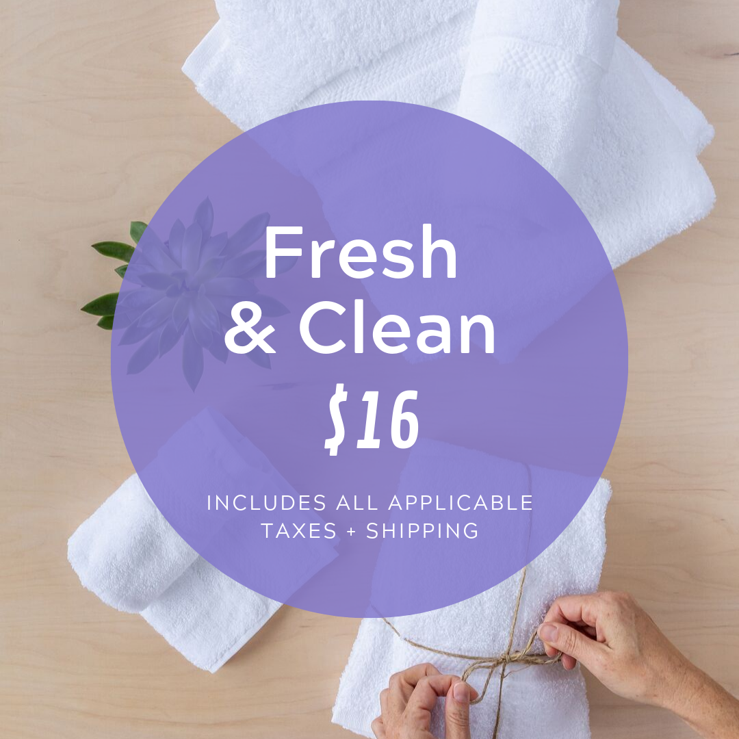 Social Media Post Sample Copy:  Help us celebrate our clients by purchasing a bundle of fresh fluffy towels!  www.cocobundle.co/womens-drop-in