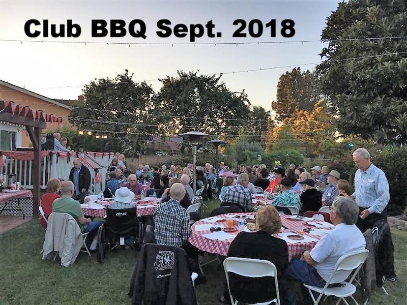 Club BBQ Sept. 2018