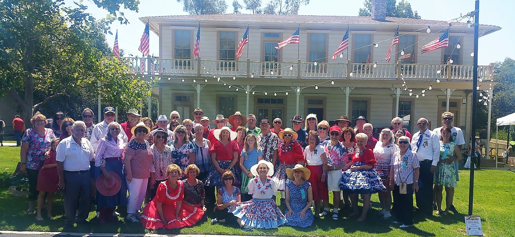 2019 July 4th Dancers at the Stage Coach Inn
