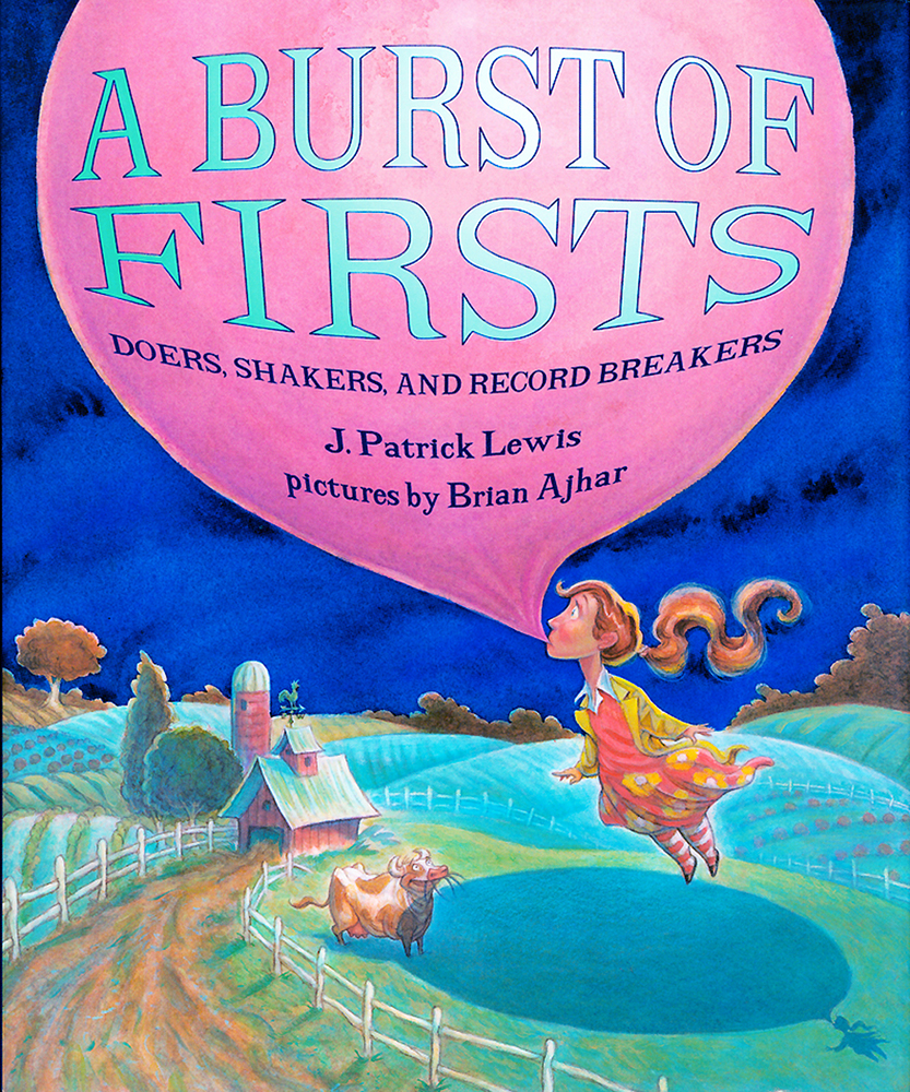 A Burst Of Firsts- Cover