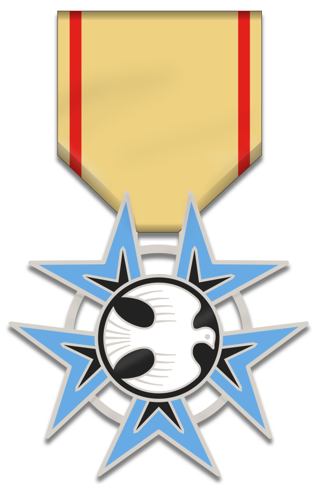 2017 Medal of High Honor  – Edition of 350 sequentially-numbered medals