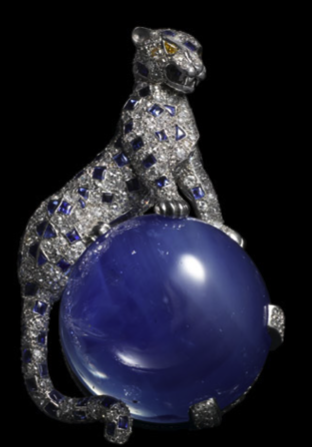Panther clip brooch, 1949.