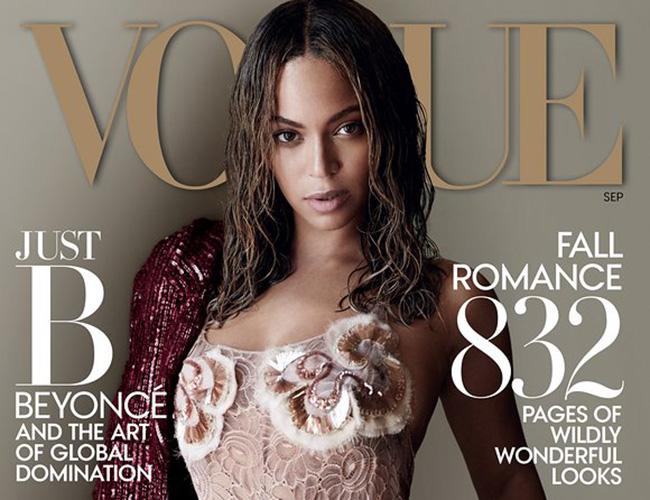 Beyoncé, Vogue September Edition 2015.