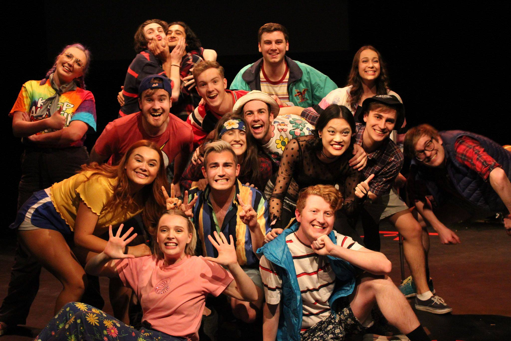The cast of Commerce Revue 2018