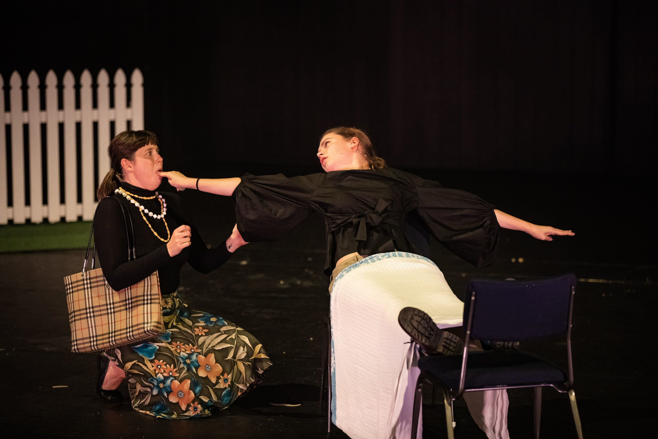 Rachael Colquhoun-Fairweather (left) and Sophia Morrison (right)