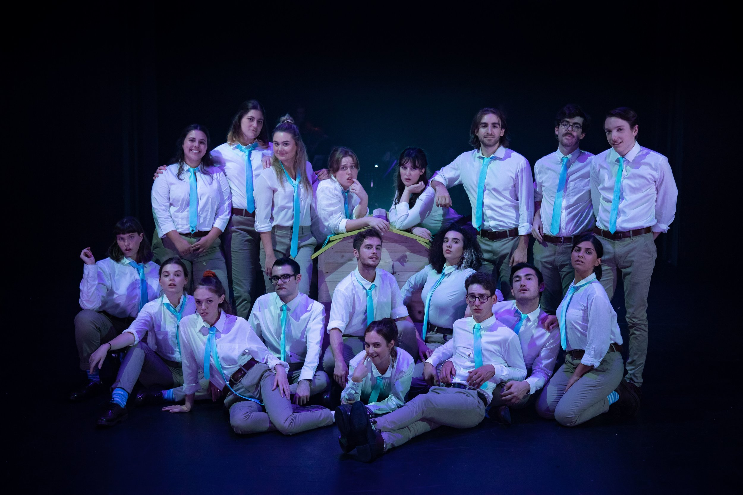 The cast of Sydney Uni Revue