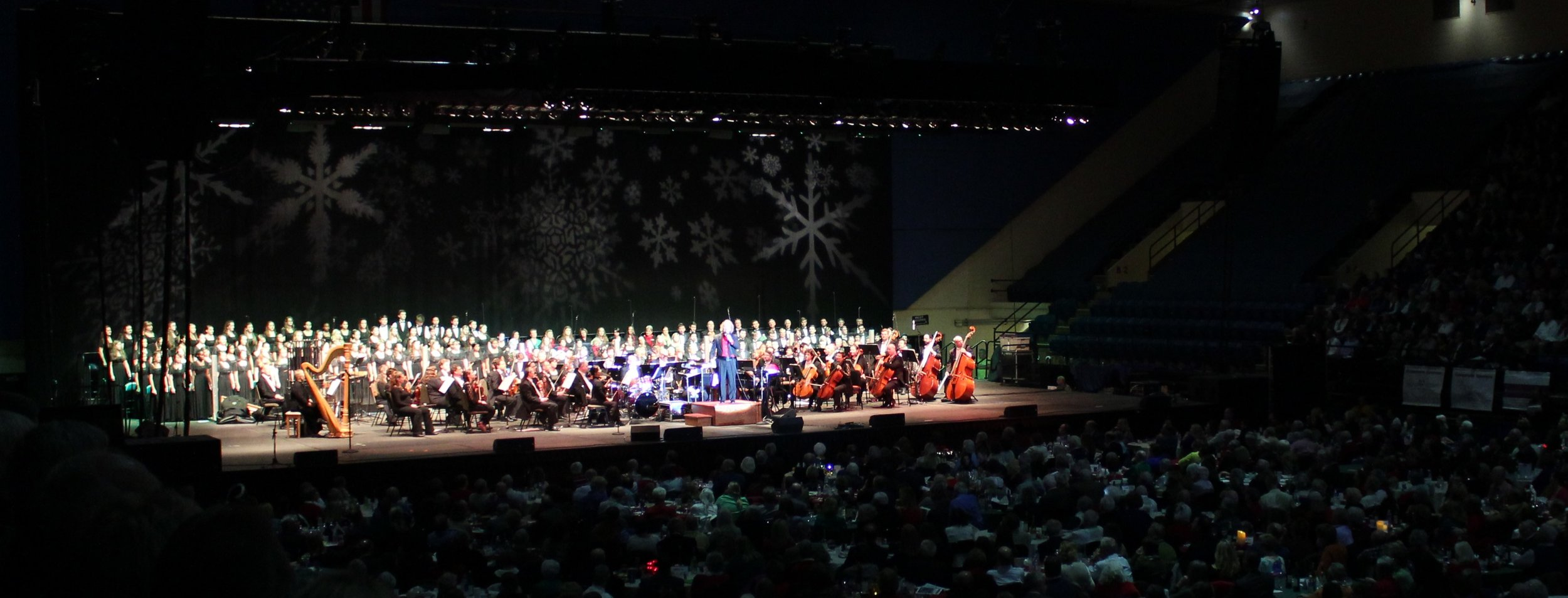 C Choir Sings with the RSO at Annual Holiday Pops