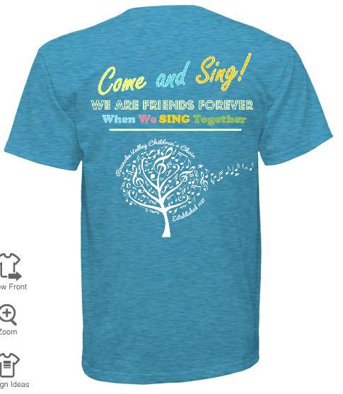 ABB+ Choir T Shirt (Back)