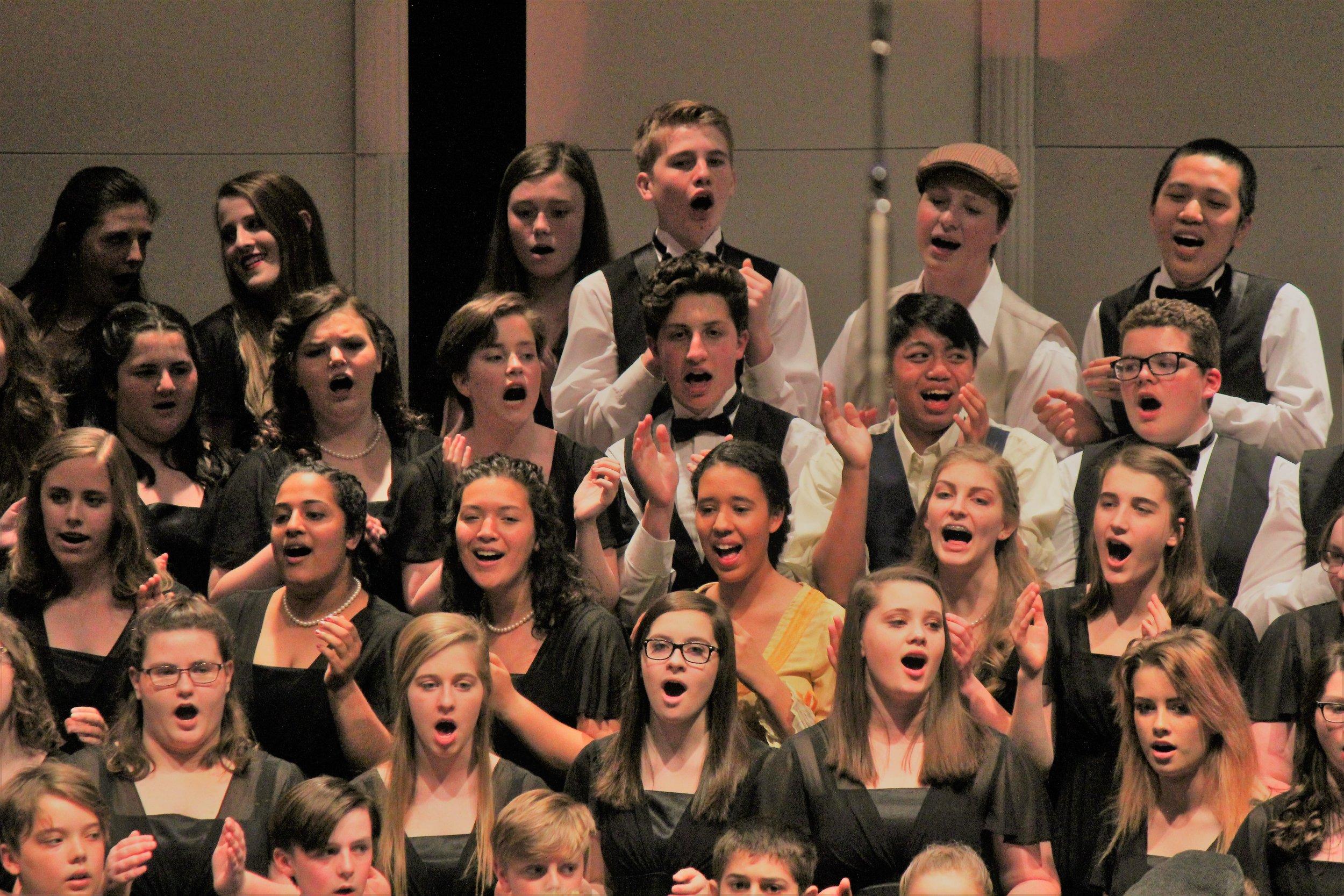 "So much fun singing ""Praise His Holy Name!"""