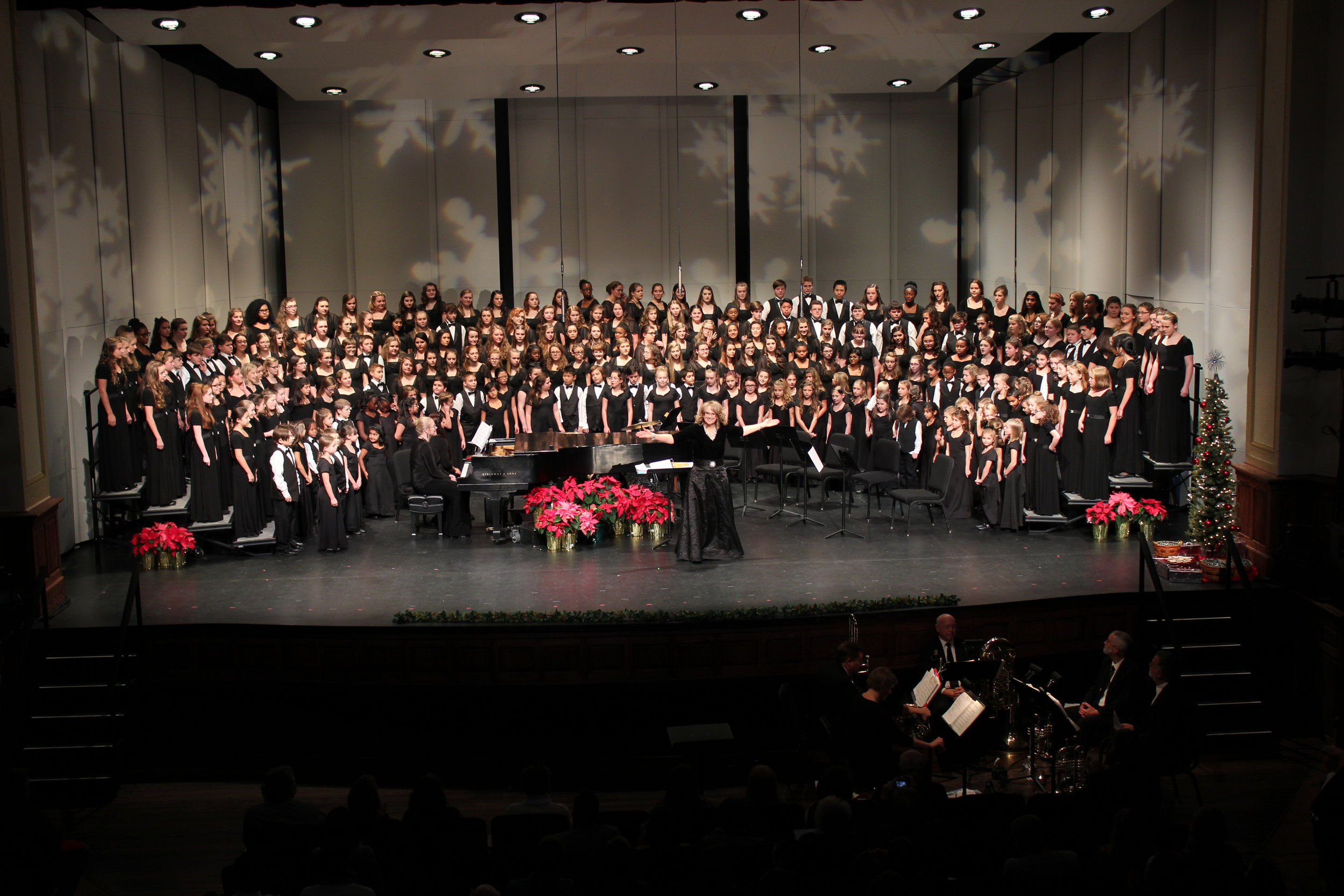 2017 RVCC Holiday Concert - The Roanoke Valley Children's Choir - 31st Annual Holiday Concert at The Jefferson Center in Roanoke, VA.
