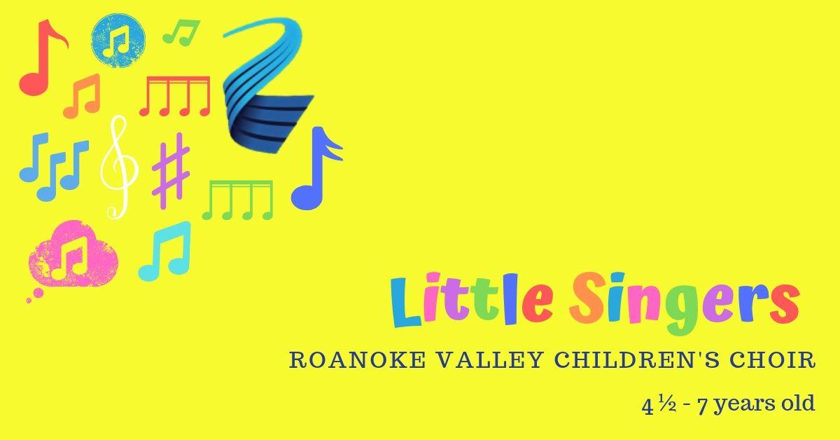 Rvcc Spring Break 2020.Little Singers Roanoke Valley Children S Choir
