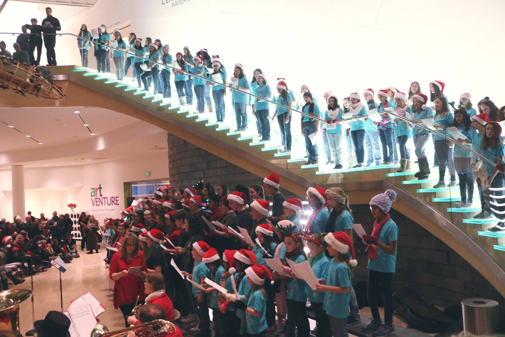 2019 Community Sing-A-Long - Friday, December 13th at 7:30 pm, at the Taubman Museum in Roanoke, VA.Come join us at the 5th Annual Community Sing-A-Long, hosted by the RVCC! With your help, we will be singing classic holiday carols to get into the holiday spirit! Song booklets will be handed out at the door.*No ticket necessary. Come on by and sing with us, it's free and fun!