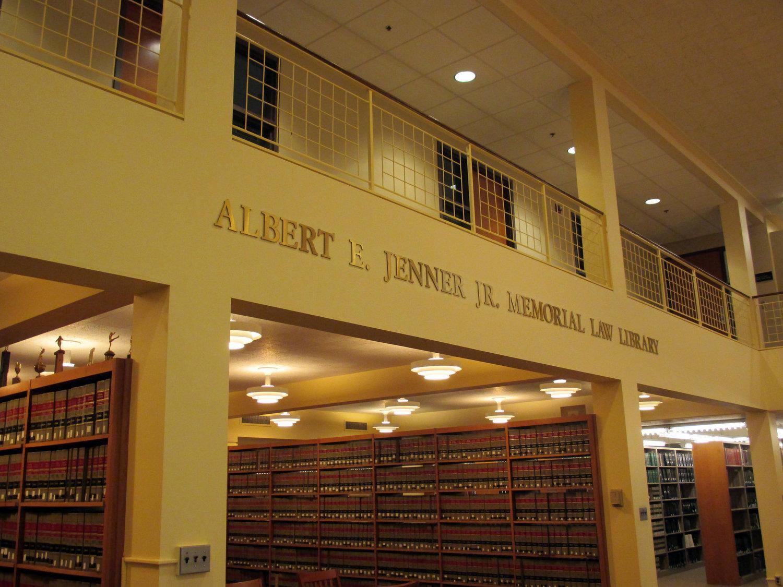 Albert E. Jenner Jr. Memorial Law Library.jpg