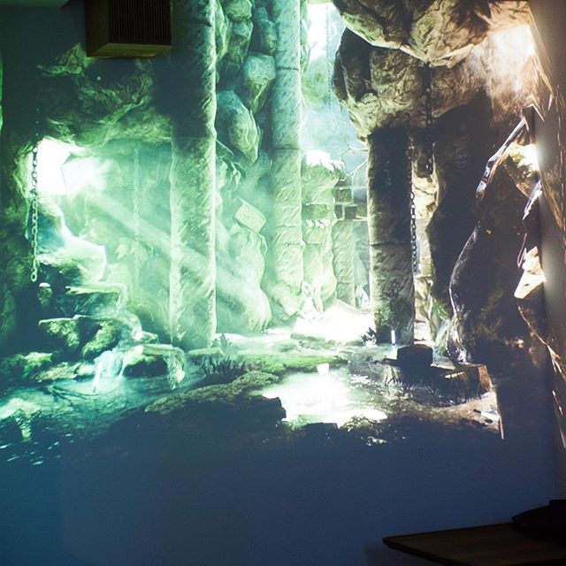 Lurking in caves, what mysteries are there to find?? #immersive #immersiveprojection #projection