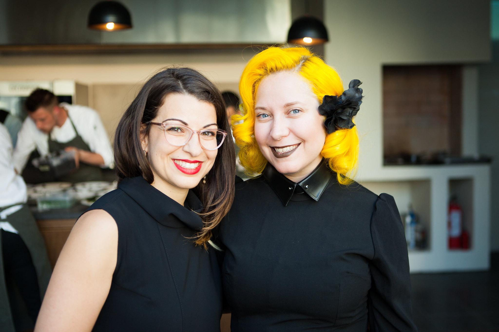 Anita Sarkeesian & Aleissia Laidacker, co-founders