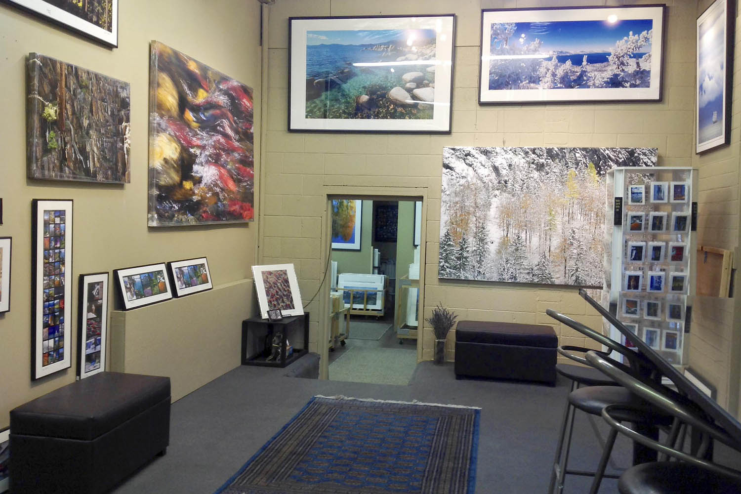 Dirk Yuricich Photography Studio-Gallery Front Room