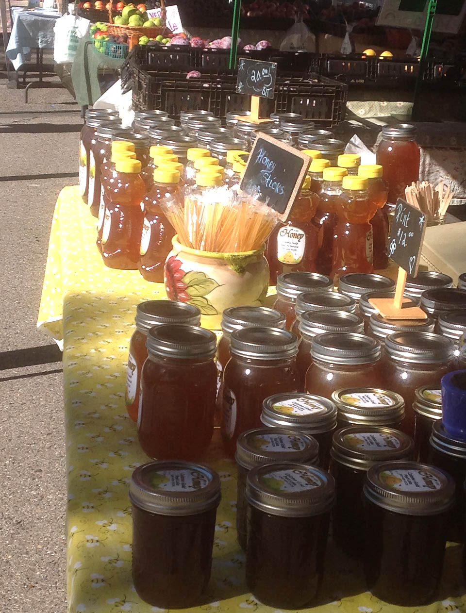 Coloma Gold Honey at the El Dorado County Certified Farmers Market