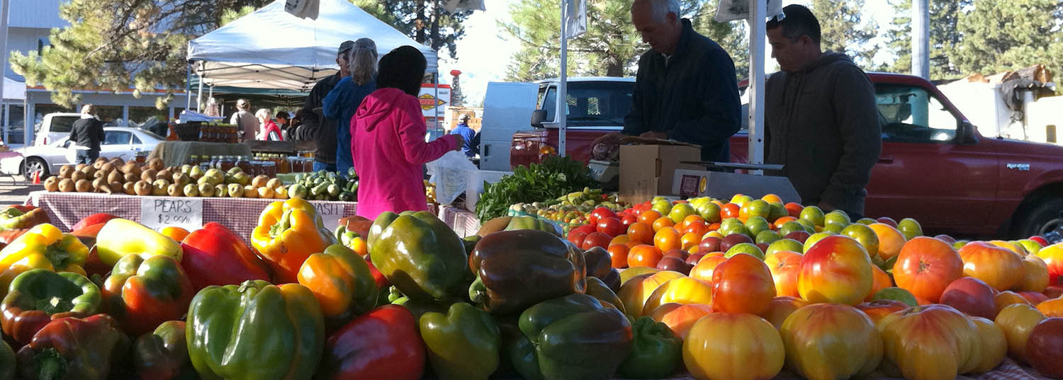 South Lake Tahoe Farmers Market... - Every Tuesday morning.