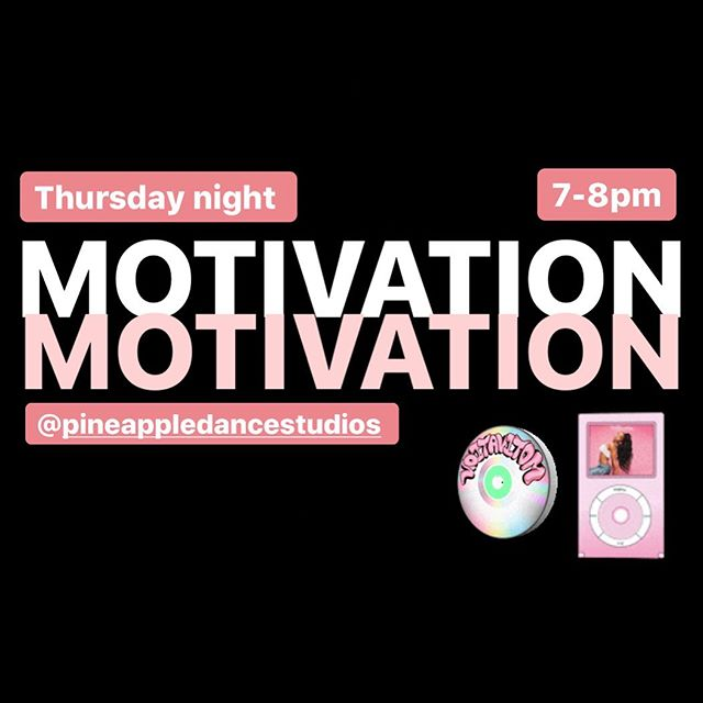 THIS THURSDAY 💖. @pineappledancestudios  7-8pm  Commercial Performance £8
