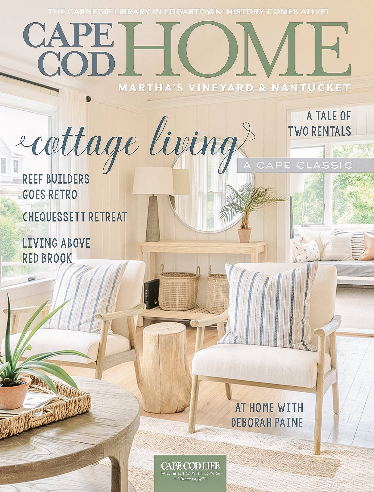 cover story - Read the full cover story on our Hunt Street Revival Project featured in the May 2019 publication of Cape Cod Home magazine.